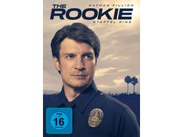 The Rookie Staffel 1 5 DVDs