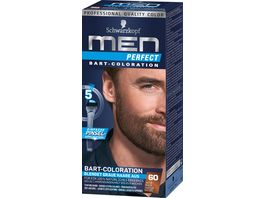 Schwarzkopf MEN PERFECT Bart Coloration 60 Natur Braun Stufe 2