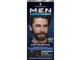 MEN PERFECT Bart Coloration 80 Natur Schwarz Braun Stufe 2