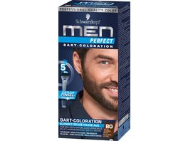 Schwarzkopf MEN PERFECT Bart Coloration a 80 Natur Schwarz Braun Stufe 2
