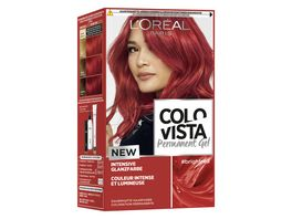 COLOVISTA Permanent Gel brightred