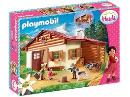 PLAYMOBIL 70253 Heidi Heidi und Grossvater auf der Almhuette