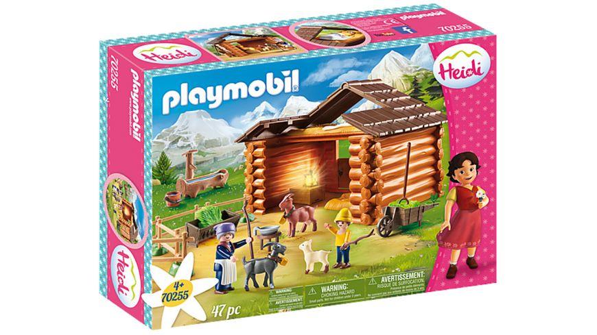 PLAYMOBIL 70255 - Heidi - Peters Ziegenstall