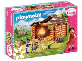 PLAYMOBIL 70255 Heidi Peters Ziegenstall