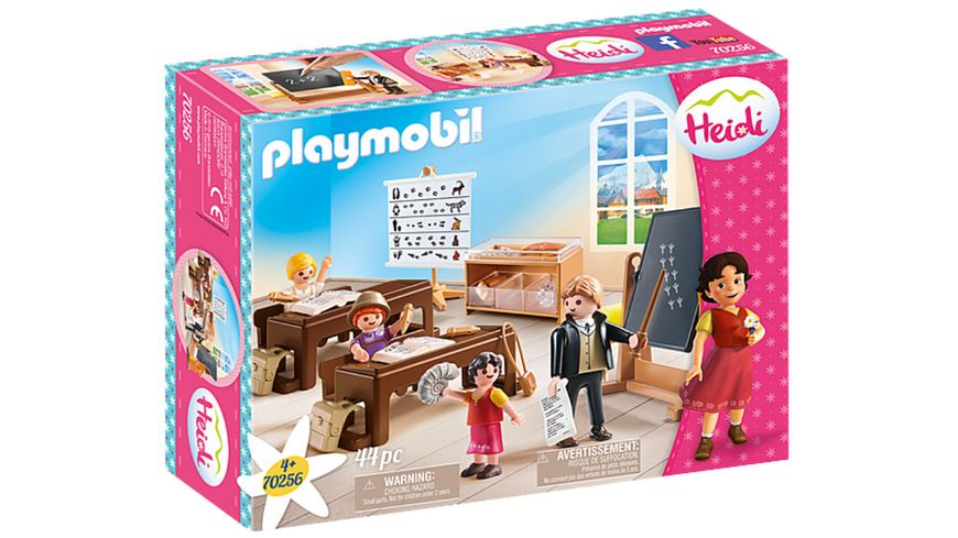 PLAYMOBIL 70256 - Heidi - Schulunterricht im Dörfli
