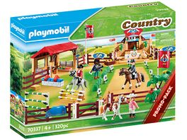 PLAYMOBIL 70337 Country Grosser Reitturnierplatz