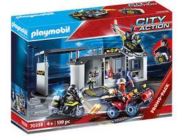 PLAYMOBIL 70338 City Action Grosse Mitnehm SEK Zentrale