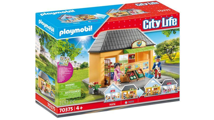 PLAYMOBIL 70375 - City Life - Mein Supermarkt