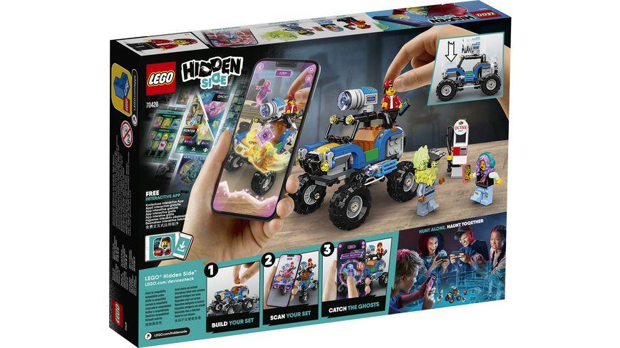 LEGO Hidden Side 70428 Jacks Strandbuggy