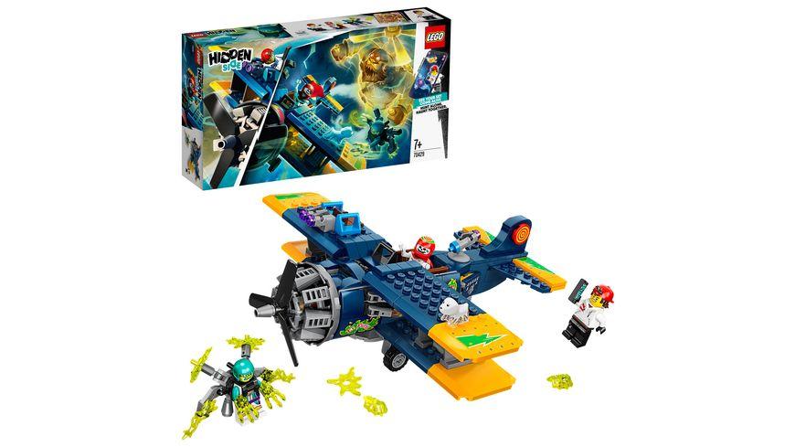LEGO Hidden Side 70429 El Fuegos Stunt Flugzeug