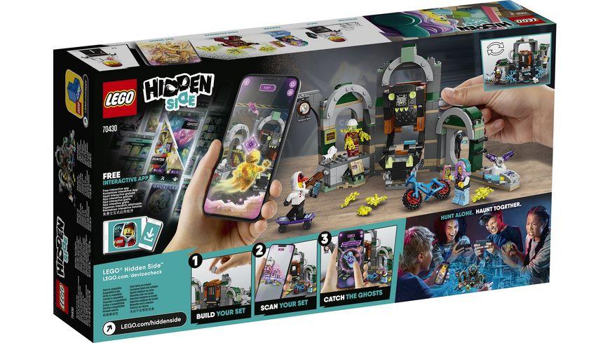 LEGO Hidden Side 70430 Newbury U Bahn Station
