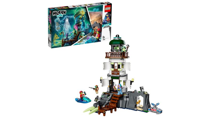 LEGO Hidden Side 70431 Der Leuchtturm der Dunkelheit