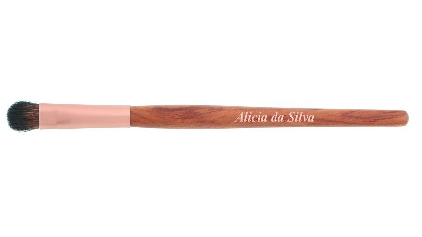 Alicia da Silva Lidschattenpinsel klein aus Holz