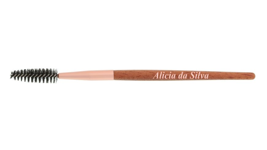 Alicia da Silva Wimpernrundbuerster aus Holz