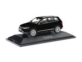 Herpa 070942 VW Touareg schwarz