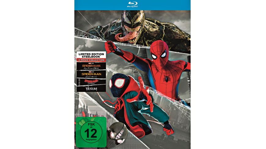 Spider Man 4 Movie Steelbook