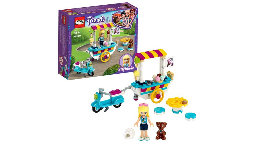 LEGO Friends 41389 Stephanies mobiler Eiswagen