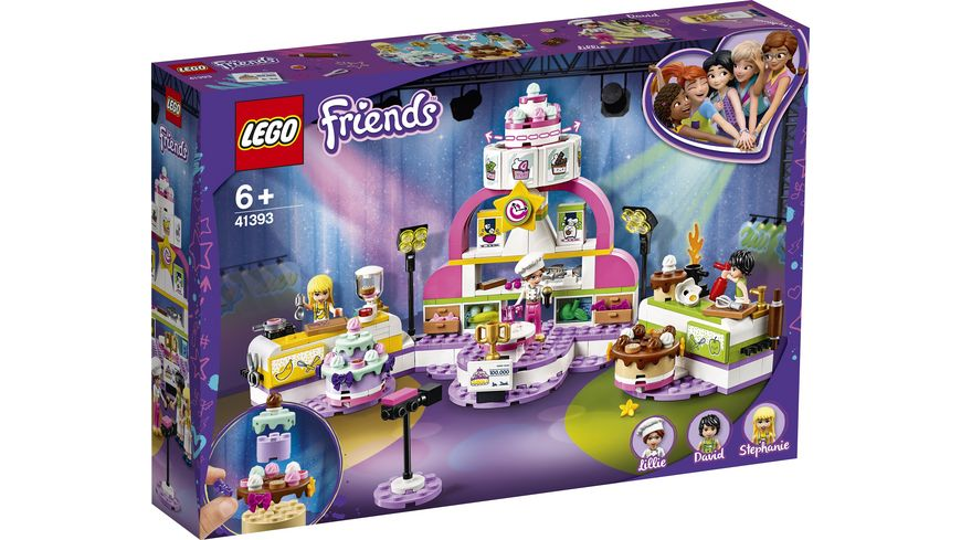 LEGO Friends 41393 Die grosse Backshow