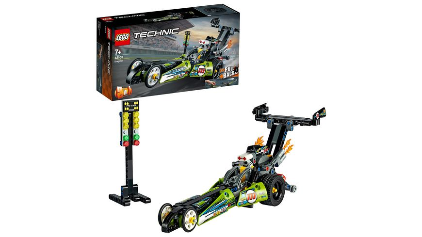 LEGO Technic 42103 Dragster Rennauto