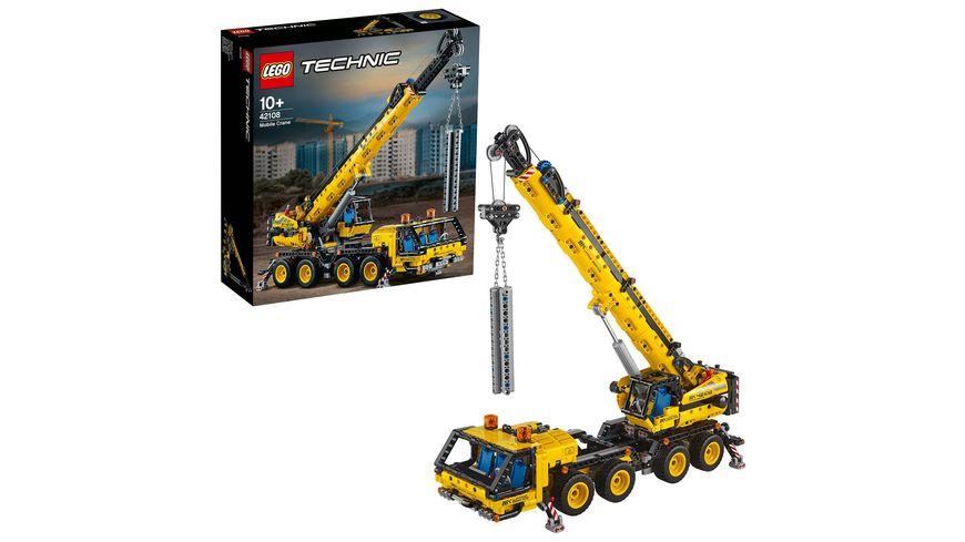 LEGO Technic 42108 Kran LKW
