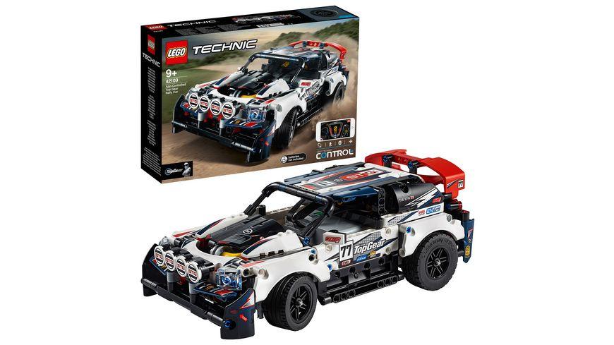 LEGO Technic 42109 Top Gear Ralleyauto mit App Steuerung
