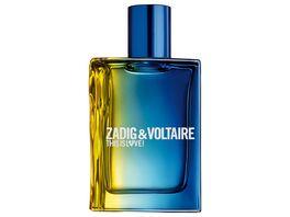 Zadig Voltaire This is Love Pour Lui Eau de Toilette