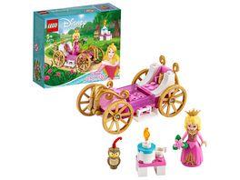 LEGO Disney Princess 43173 Auroras koenigliche Kutsche