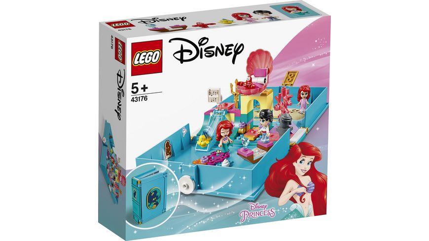 LEGO Disney Princess 43176 Arielles Maerchenbuch