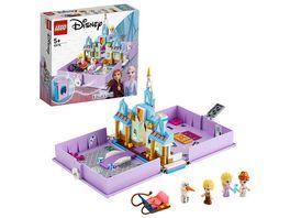 LEGO Disney Princess 43175 Annas und Elsas Maerchenbuch