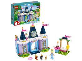 LEGO Disney Princess 43178 Cinderellas Schlossfest
