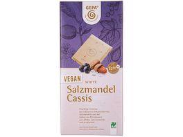 GEPA Vegan White Salzmandel Cassis