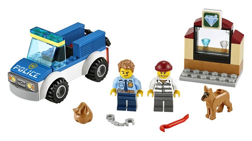LEGO City 60241 Polizeihundestaffel