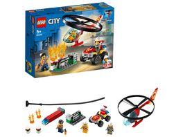 LEGO City 60248 Einsatz mit dem Feuerwehrhubschrauber