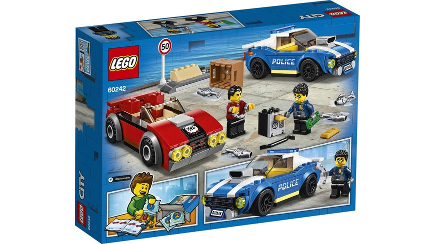LEGO City 60242 Festnahme auf der Autobahn