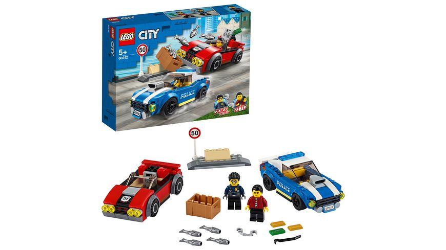LEGO City - 60242 Festnahme auf der Autobahn