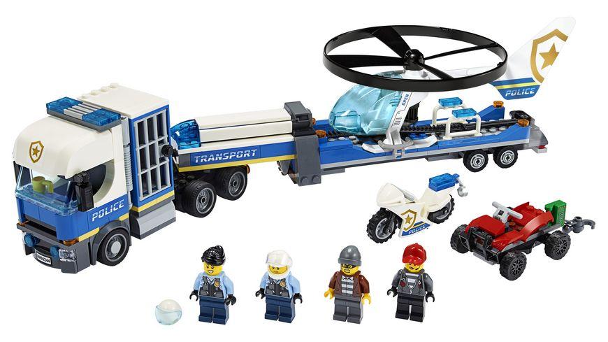 LEGO City 60244 Polizeihubschrauber Transport