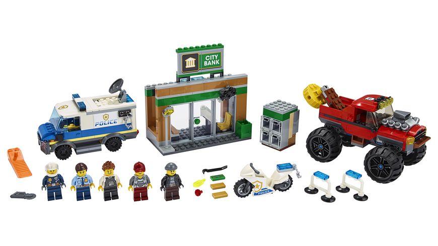 LEGO City 60245 Raubueberfall mit dem Monster Truck