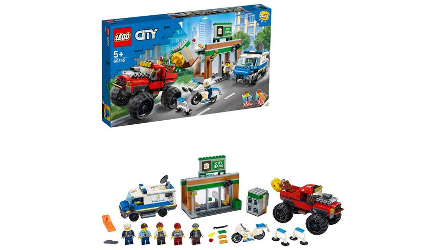 LEGO City - 60245 Raubüberfall mit dem Monster-Truck