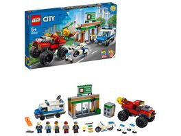 LEGO City 60245 Raubueberfall mit dem Monster Truck