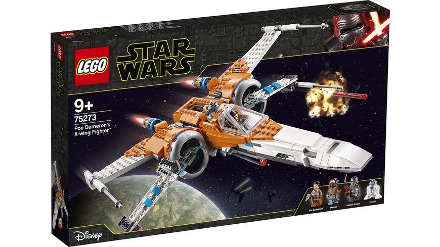 LEGO Star Wars 75273 Poe Damerons X Wing Starfighter