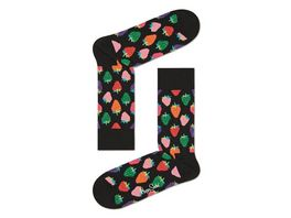 Happy Socks Socke Strawberry Unisex
