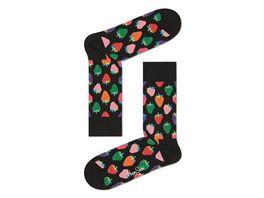Happy Socks Socke Strawberry Unisex