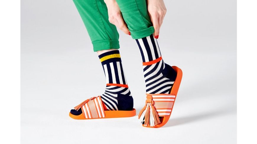 Happy Socks Socke Stripes And Stripes Unisex
