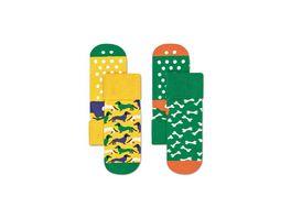 Happy Socks Kinder Anti Slip Socke Dog