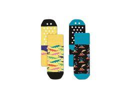 Happy Socks Kinder Anti Slip Socke Danger 2er Pack