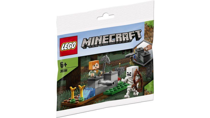 LEGO Minecraft 30394 Die Skelett Abwehr