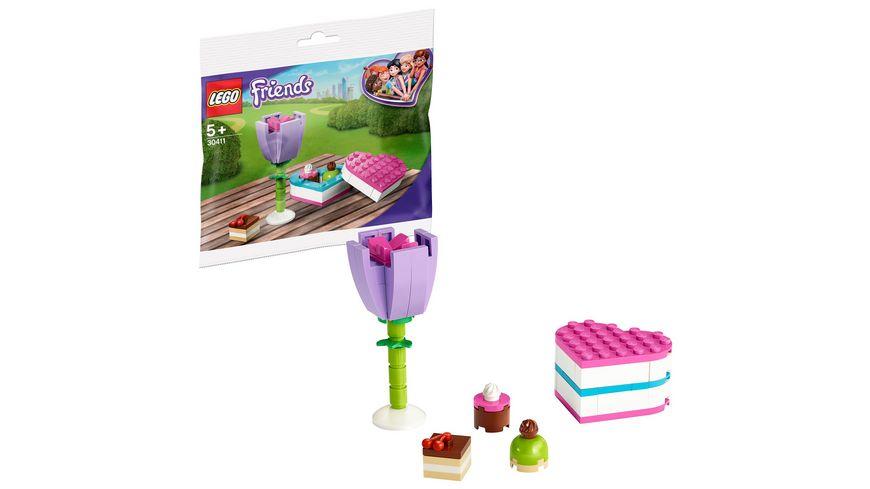 LEGO Friends 30411 Pralinenschachtel Blume