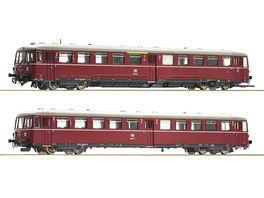 Roco 72080 Akkutriebwagen BR 515 mit Steuerwagen DB