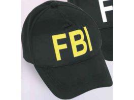 Fries 38905 Basecap FBI gelb Groesse variabel 55 60 cm