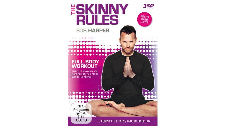 Bob Harper The Skinny Rules Full Body Workout 3 DVDs